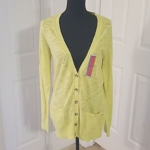 ☆ Mossimo ☆ Long Sleeve Button Front Cardigan L
